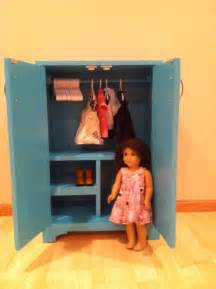 How To Make American Doll Closet by White American Doll Closet Diy Projects