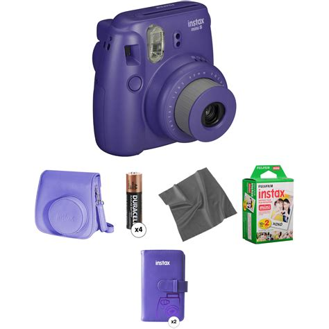 instax mini 8 instant fujifilm instax mini 8 instant pro kit grape b h
