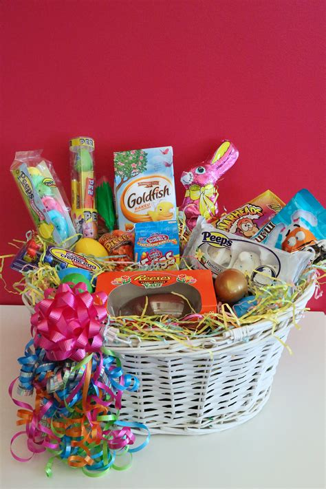 easter gift baskets for 4 20 easter basket popsugar food