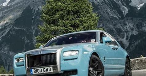 Baby Blue Rolls Royce by Luxury Baby Blue Rolls Royce In A Beautiful Alpine
