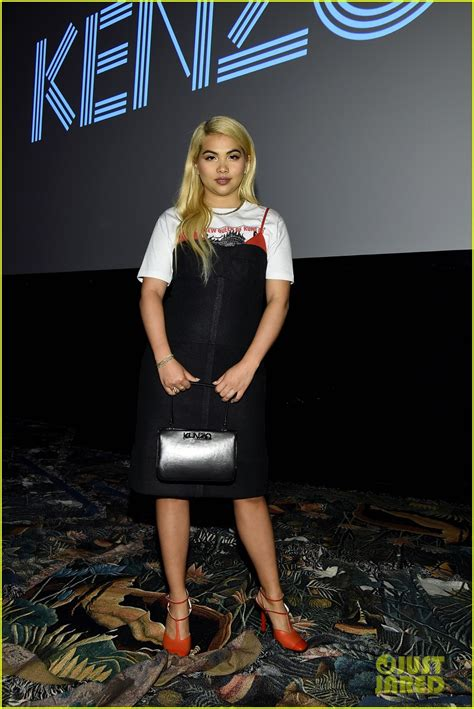 milla jovovich everything justin theroux supports cast of kenzo film at nyfw event