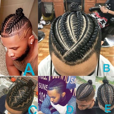 men bun hairstyle with braids for black men and faded on the sides 25 best ideas about braided man bun on pinterest mens