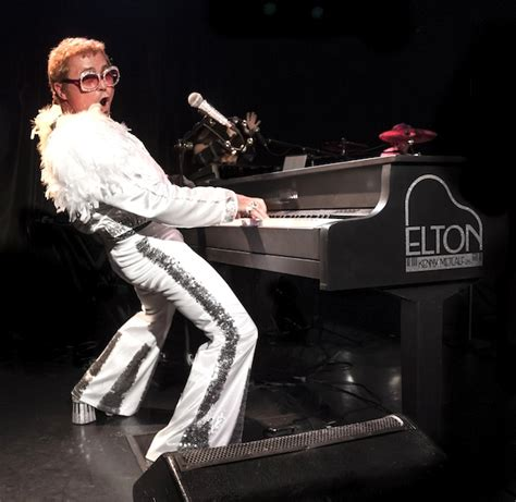 elton john early years kenny metcalf as elton and the early years band play house