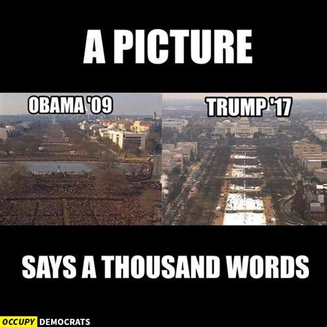 picture of inauguration crowd funniest donald trump inauguration memes