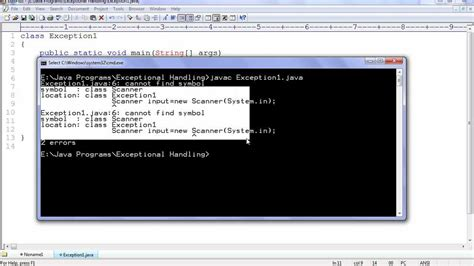 youtube tutorial java programming java tutorial for beginners 35 exception handling 1 youtube