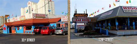 higgins crab house all you can eat crabs ocean city md higgins crab house ocmd
