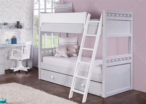 lit superpose tiroir chambre avec lit et bureau chez ksl living