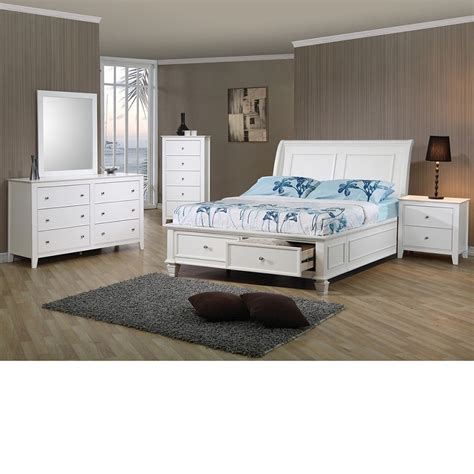 white coastal bedroom furniture dreamfurniture com sandy beach storage bed bedroom set