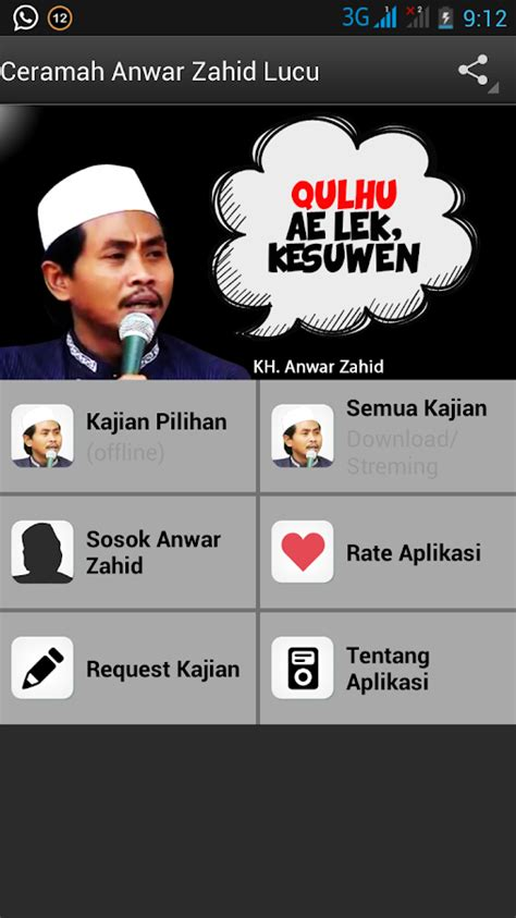 download mp3 ceramah salafi download ceramah lucu kh anwar zahid 2012 presidential