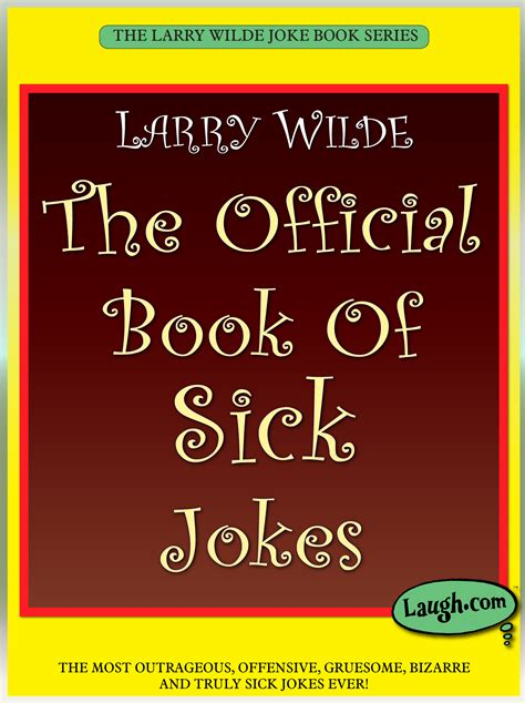 sick humor books the official book of sick jokes