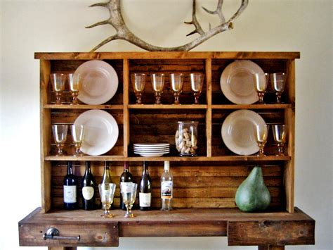 Dining Room Hutch Diy Instant Rustic Storage And Style With A Diy Hutch Hgtv