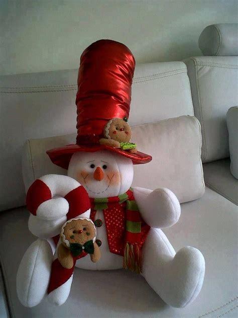 ideas  decoracion  monos de nieve de fieltro  como organizar la casa fachadas