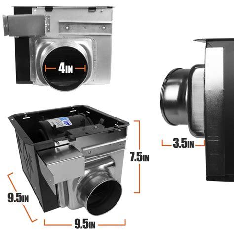 2100 hvi bathroom fan bv 110 cfm bathroom fan ceiling ventilation exhaust vent wall mount toilet bf02