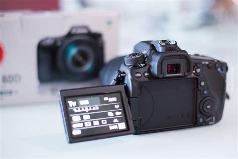 canon 80d dslr kamera erster eindruck f 252 r youtuber