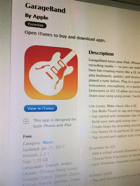 Garageband Hardware Garageband Apps App Reviews