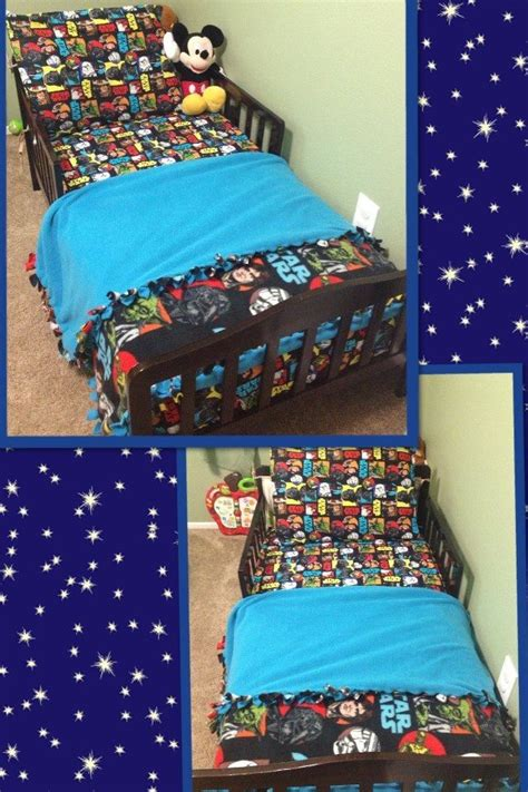 Wars Toddler Bedding by Wars Toddler Bedding I Made For Snuggle Up