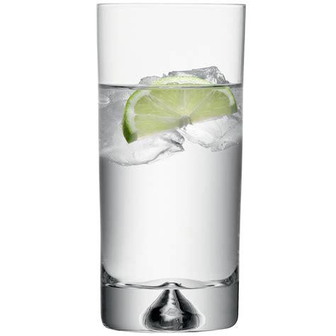 lsa bicchieri set bicchieri bibita piramide 375ml trasparente lsa lsa