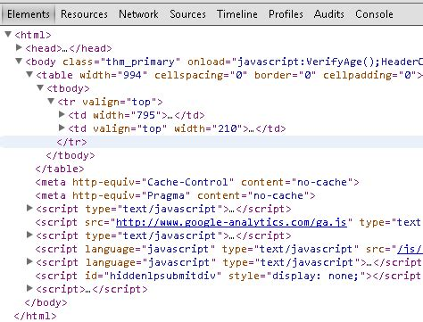 Html Table Tag by Perl Does Html Treebuilder Somehow Scrunch Together All The Table Elements That Are Nested