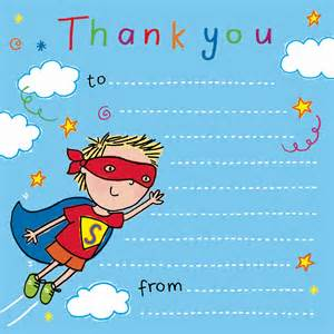 Thank You Notes by Thank You Notes For Thank You Cards For Children Thank You Notes Birthday