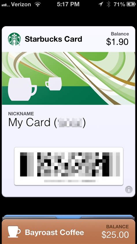 Add Starbucks Gift Card To Wallet - starbucks gets passbook support on iphone