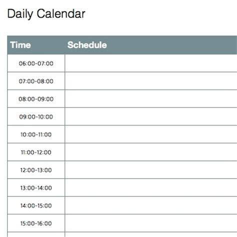 daily planner template for ipad daily calendar template beepmunk