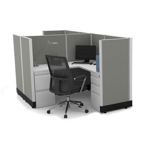 powered by desk com workstation desk 53h 2pack cluster powered