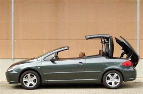 peugeot 307 2 0 hdi review peugeot 307 cc 2 0 se review autocar