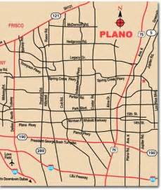 plano city map plano mappery