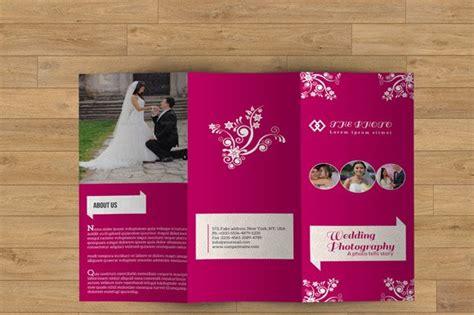 trifold brochure  wedding  brochure templates
