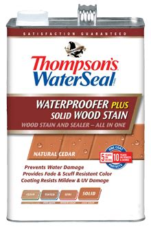 thompsons waterseal waterproofer  solid wood stain