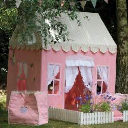 Pink Gingham Curtains Gingerbread Cottage Playhouse