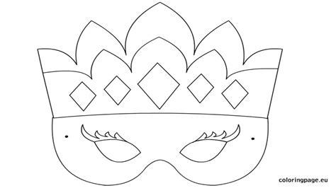 Masquerade Mask Template Printable