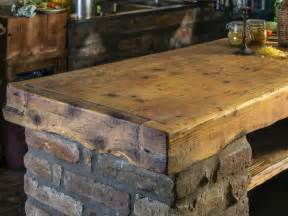 Rustic Bar Top by Rustic Kitchen Islands Hgtv