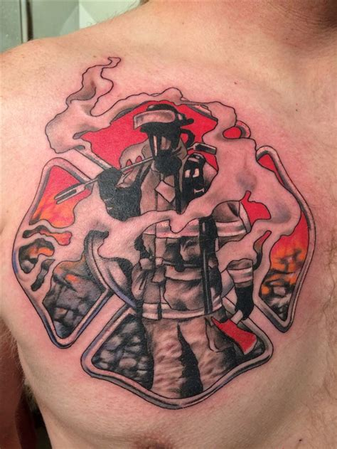 firefighter tattoos for men 116 best images about smokin ink on maltese