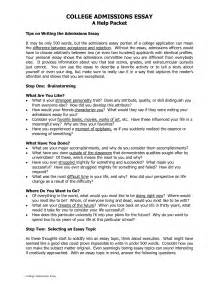 Sle High School Admission Essays by College Admissions Essay Tips Maintenance Engineer Sle Resume