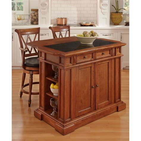 kitchen home bar products home styles deluxe traditions island and 2 bar stools