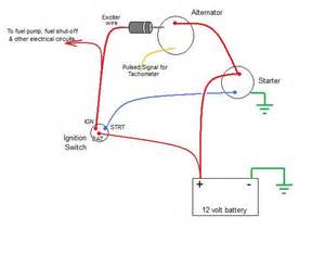 alternator exciter wire diode charging problems page 2