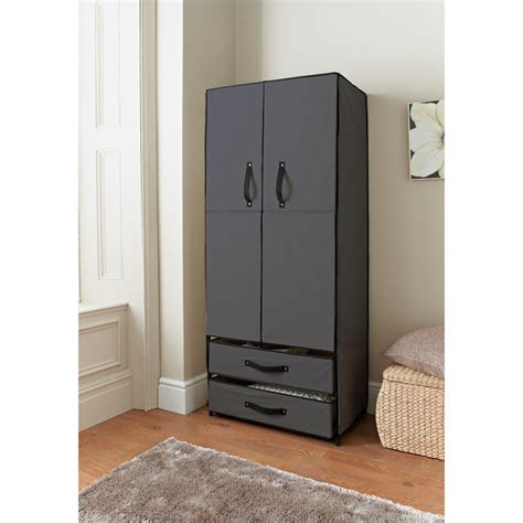 Canvas Wardrobe Deluxe Canvas Wardrobe Bedroom Furniture Furniture