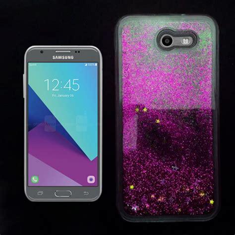 samsung galaxy  emergejamp prime  pink liquid glitter case wholesale cell phone