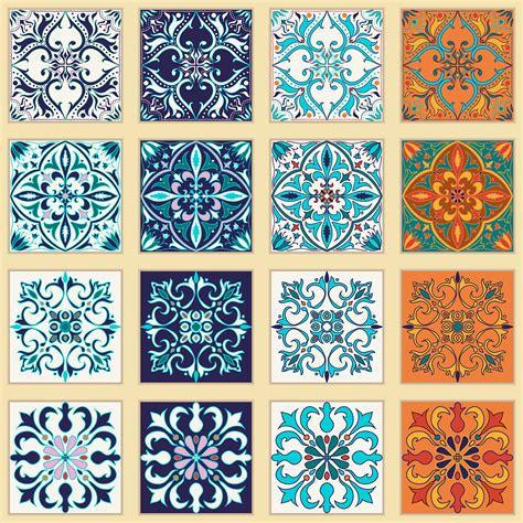 portuguese tiles  patchwork patterns  behance