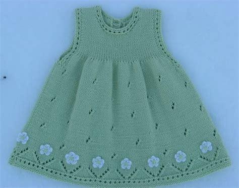 vestidos para nias con tejido vestido para ni 241 a tejido con dos agujas calado con