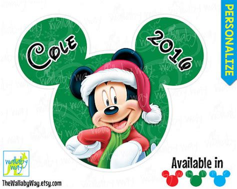 mickey mouse merry mickey mouse printable iron on transfer or use as