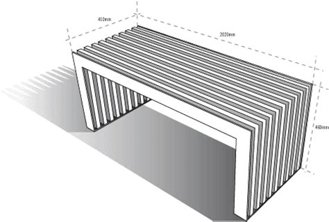 dimensions of bench obbligato slat bench