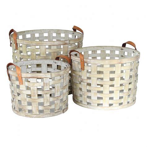 G Plan Upholstery Fabrics Vale Furnishers White Wash Wood Chip Storage Baskets