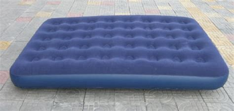 pvc persons 40 holes flocked air beds size