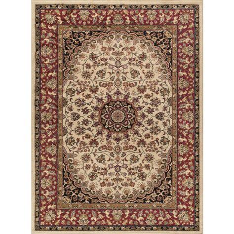 tayse rugs elegance beige 7 ft 6 in x 9 ft 10 in