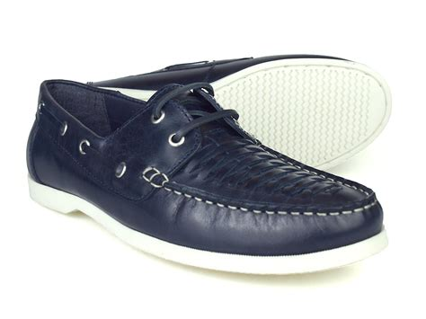 boat shoes london silver street london crew mens navy leather boat shoes