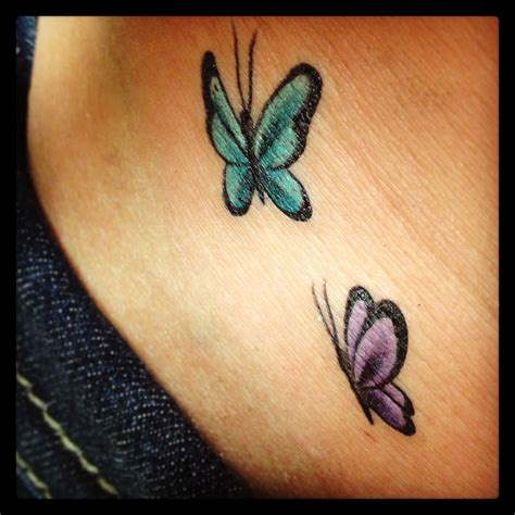 tiny butterfly tattoo designs small butterfly on hip