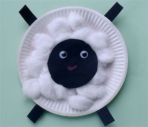 crafts animal crafts for toddlers paper plate baby farm animals