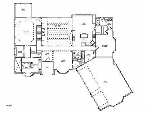 4 bedroom ranch house plans with walkout basement house plan luxury 4 bedroom ranch house plans with